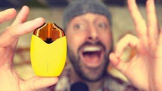 The Lemon Vape Kit! Beginner Vape! Refillable Pod System!