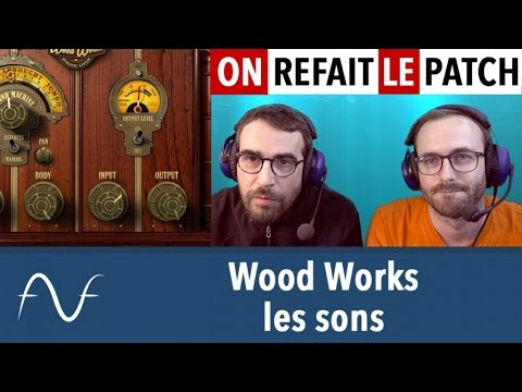 Sound Machine Wood Works : les sons
