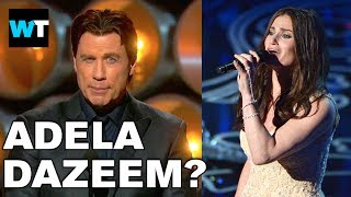 John Travolta and Adele Dazeem Oscars Mishap! | What