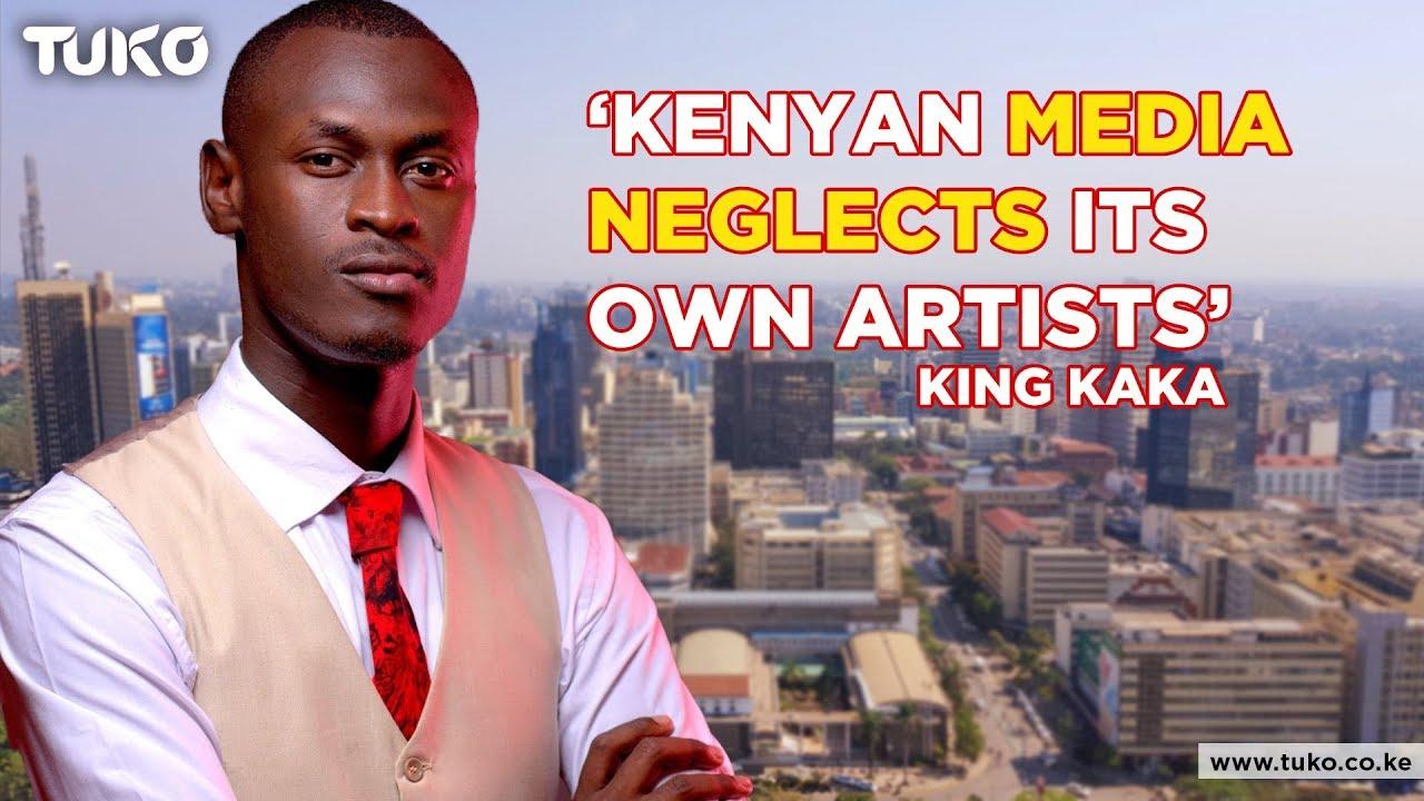 King Kaka blames Kenyan media for Tanzania, Nigeria Music Invasion   Tuko TV