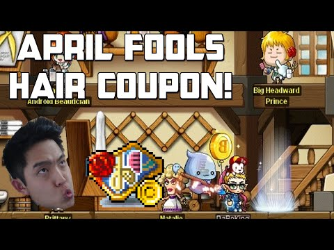 MapleStory April Fools Hair Coupon - New Maple Class??