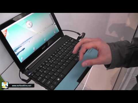 Acer Aspire One E100 Education - hands-on