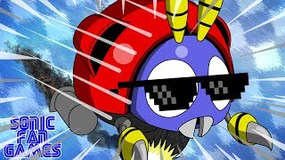 Motobug the Badnik in Sonic 1 - A REVOLTA DE JOANINHO | Sonic Fan Games #71