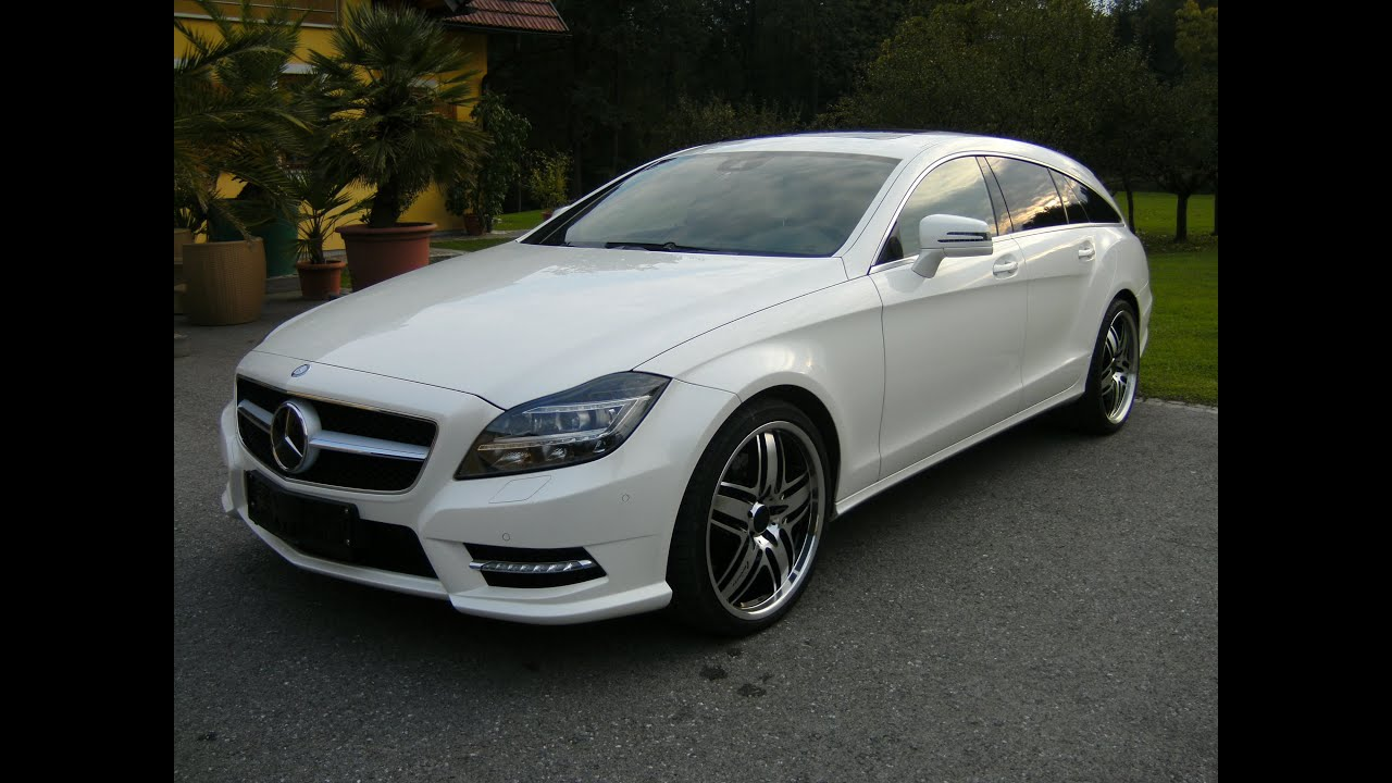 Mercedes Amg Cls 350 Cdi Shooting Brake 4matic Aut Youtube