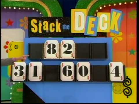 The Price is Right:  October 9, 2006  (Debut of Stack the Deck!)