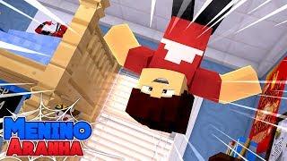 Minecraft: MENINO ARANHA - RECUPEREI MEUS PODERES!!! #108