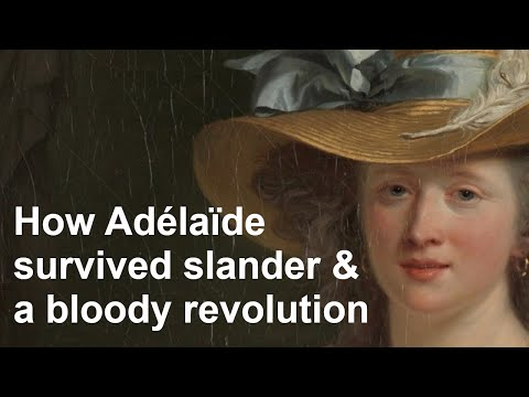 Adélaïde Labille-Guiard:  survived a nasty  smear campaign and the French Revolution || Mikono Art