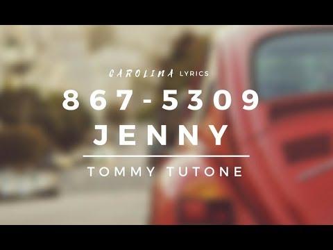 867-5309/Jenny – Tommy Tutone (Lyric Video)