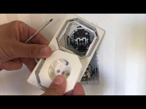 Steckdose und Lichtschalter wechseln - abbauen / zum malen streichen tapezieren
