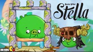 Angry Birds Stella - Unlocked ALL Piggies Golden Map Walkthrough Part 49