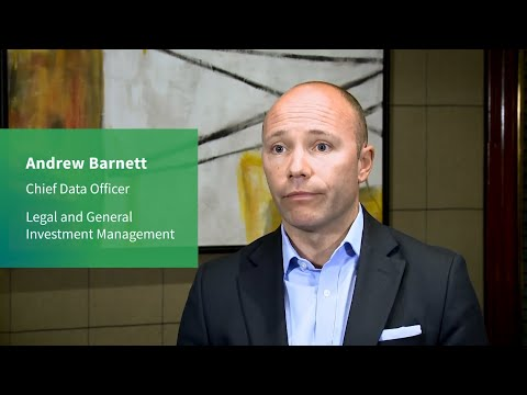 Andrew Barnett (LGIM) discusses data management within financial services