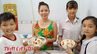 Làm trái cây tô dầm sữa chua giải khát mùa nóng