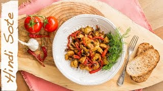 Curry Spiced Turkey Sautee | Dietitian Kitchen