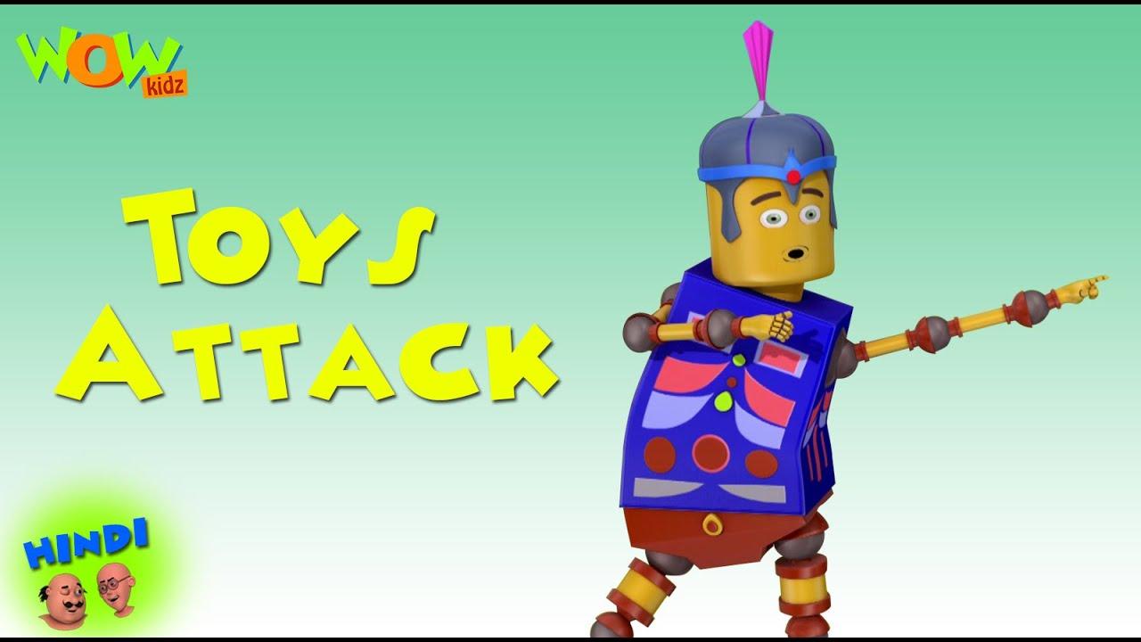 Toys Attack Motu Patlu In Hindi With English Spanish