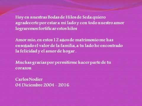 12vo Aniversario De Casado Las Bodas De Hilo 2018