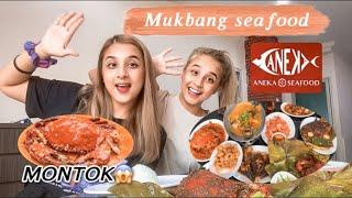 MUKBANG SEAFOOD 🦀🦞🦐🐙🐟 // SPECIAL UNTUK 40K SUBSCRIBERS ❤️