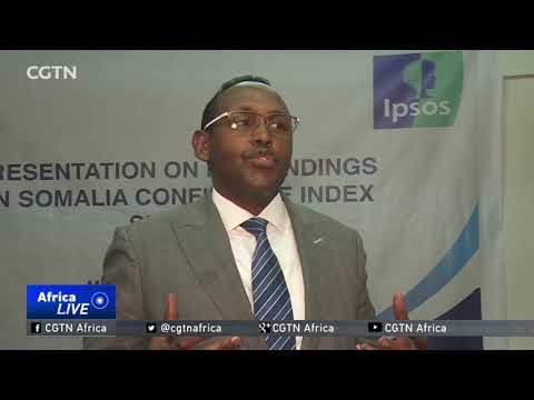 Survey in Somalia says economy up but public confidence in government dips