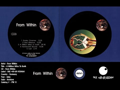 (((IEMN))) From Within (Pete Namlook & Richie Hawtin) - A Million Miles To Earth -FAX 1994 - Ambient