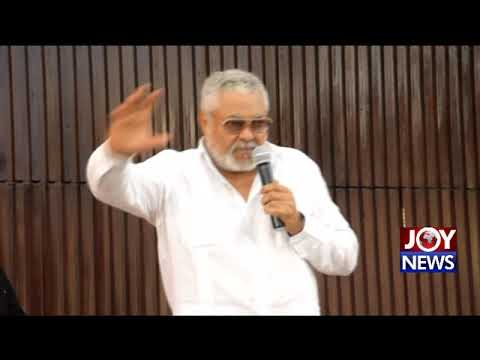 Former President Rawlings on 'Who Killed The Judges' (15-10-18)