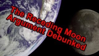 The Receding Moon Argument Debunked