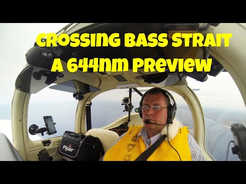 Adelaide to Hobart: Bass Strait crossing in a private plane Preview