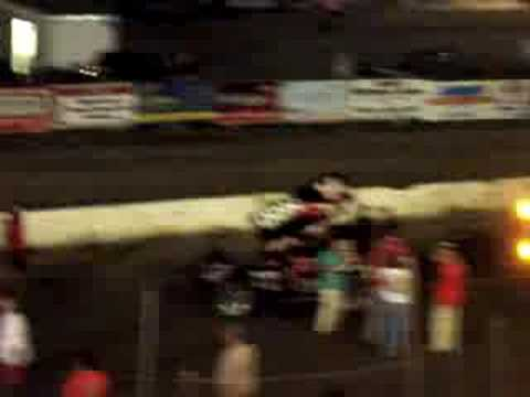 Sprint Car Feature at Orange County Fair Speedway, NY PART 3