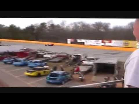 Chandler Smith's 1st Win in Pro Late Model @ Anderson Motor Speedway on 3-21-15