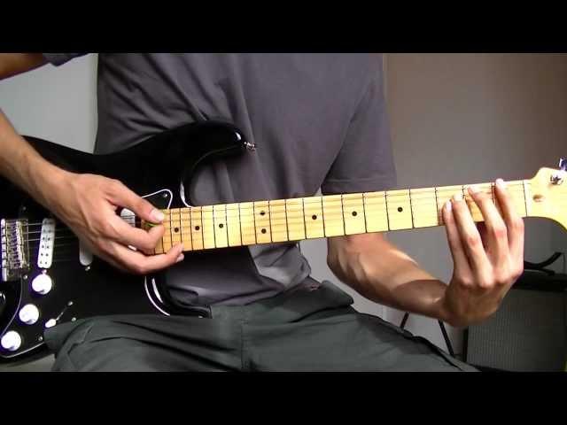 Cours de Guitare : Riffs en Powerchords - Rythmique Rock