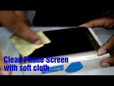 How put a screen guard on mobile screen!!!