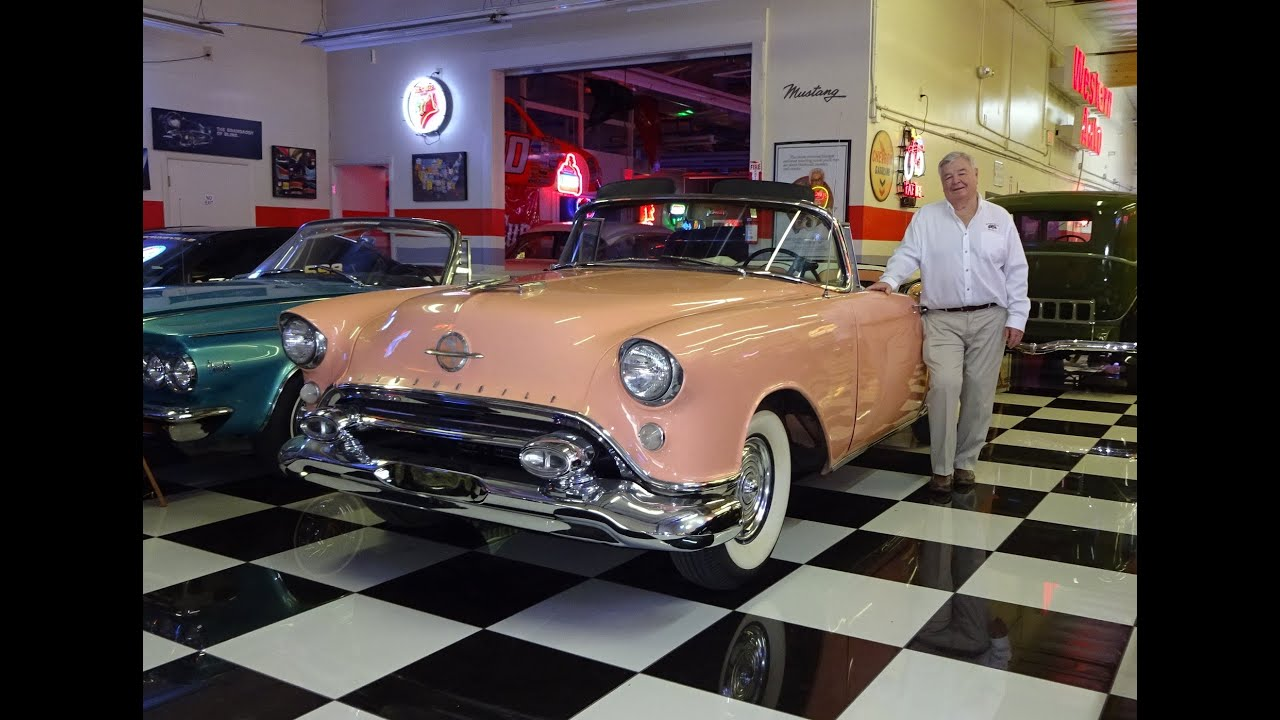 2016 Cadillac Convertible >> 1954 Oldsmobile 98 Starfire & Cadillac Convertible & Start