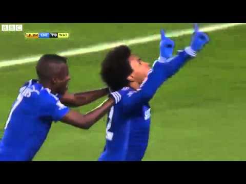 Chelsea Vs Watford 3 0 All GoalsMatch Highlights  04 O1 2015 HD