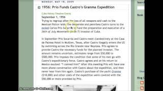 CIA, CARLOS PRIOS ,CASTRO & CUBA