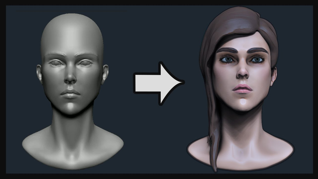 Sculpting tutorial: planes of the face blendernation.