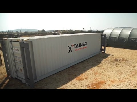 The 30 tonne self lifting shipping container | Extraordinary Engineering