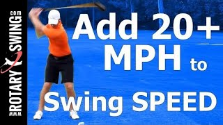 how to increase club head speed in golf swing myth busted