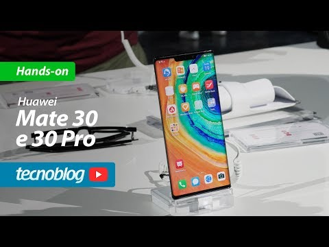 Huawei Mate 30 e 30 Pro - Hands-on Tecnoblog