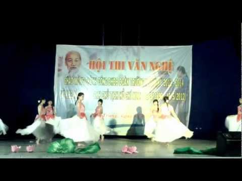 [Hot] Múa Hương Sen Dâng Bác - Khoa Ngoại Ngữ - Trường Đại Học Nha Trang