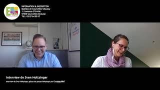 Interview de Sven Holtzinger, gérant du groupe Holtzinger par Charlotte PRAT
