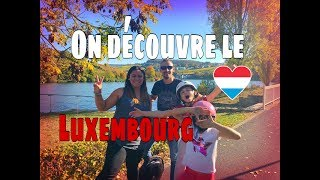 Luxembourg en camping car Welcome 🇱🇺