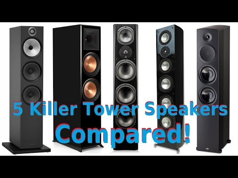 Klipsch, B&W, SVS, RBH Sound & Paradigm $2k Tower Speakers Compared