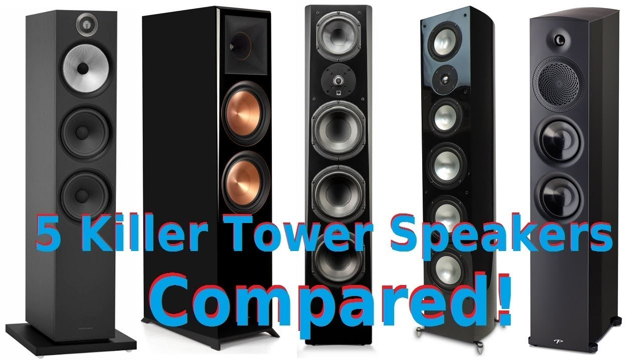 Klipsch B W Svs Rbh Sound Paradigm 2k Tower Speakers Compared Youtube