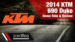 2014 KTM 690 Duke - Demo ride and review