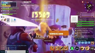 How To Get Legendary Schematic Caches On Fortnite Save The World + Footage From Today