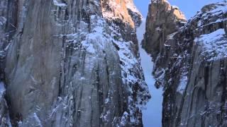Baffin Island - A Skier