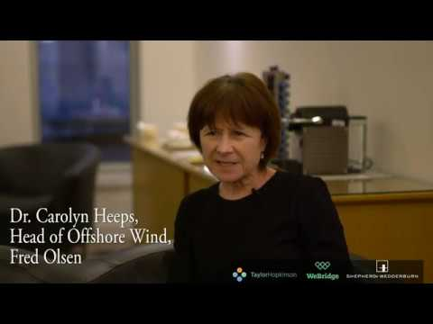 """""""Offshore Wind, 20 to 200 GW in 10 years ?"""" Carolyn Heeps."""
