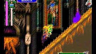 Castlevania (Dracula X) Maria Gameplay on Sega Saturn