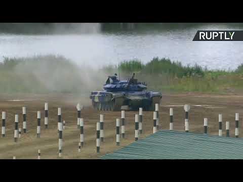 АрМИ-2019: танковый биатлон на полигоне Алабино