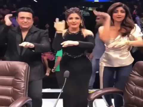 Govinda dance with raveena tandon and shilpa shetty at super dancer govinda dance with raveena tandon and shilpa shetty at super dancer 2 altavistaventures Choice Image