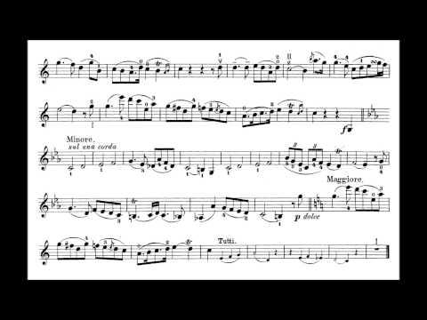 Rode, Pierre violin concerto no.7 in A minor op.9 by Friedemann Eichhorn