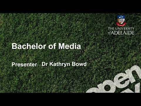 Media Talk - Open Day 2014 - The University of Adelaide